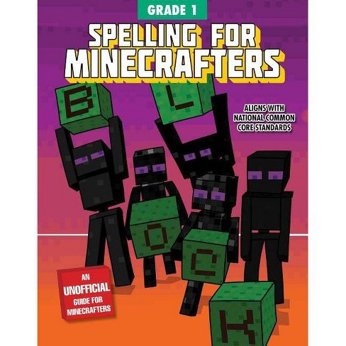 Spelling for Minecrafters: Grade 1 - (Paperback) - image 1 of 1
