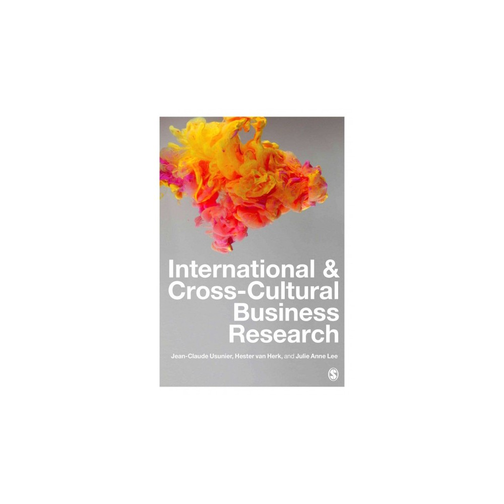 International & Cross-Cultural Business Research - (Hardcover)