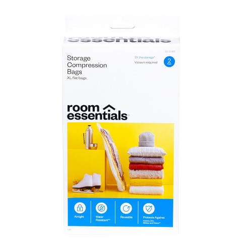 2 XL Compression Bags Clear - Room Essentials™ - image 1 of 4