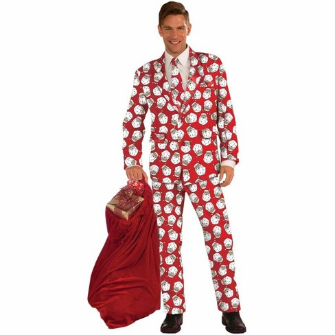 Santa Claus Adult Costume Business Suit - image 1 of 1