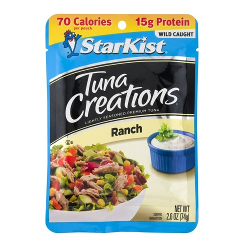 StarKist Tuna Creations Ranch Pouch - 2.6oz - image 1 of 4