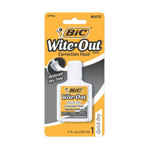 BIC Wite-Out Correction Fluid, 0.7oz - image 1 of 3