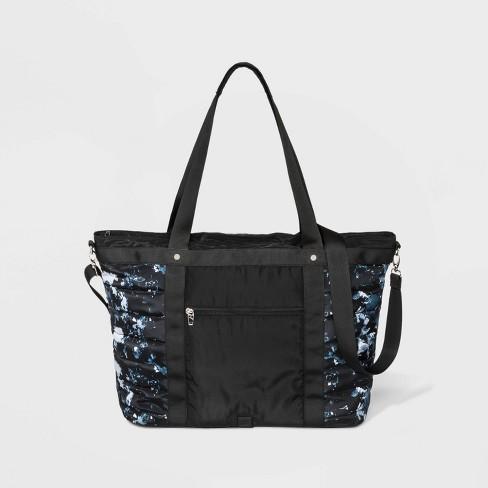 Nylon Weekender Bag - JoyLab™ Black - image 1 of 3