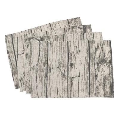 Natural Wood Grain Placemat - Saro Lifestyle