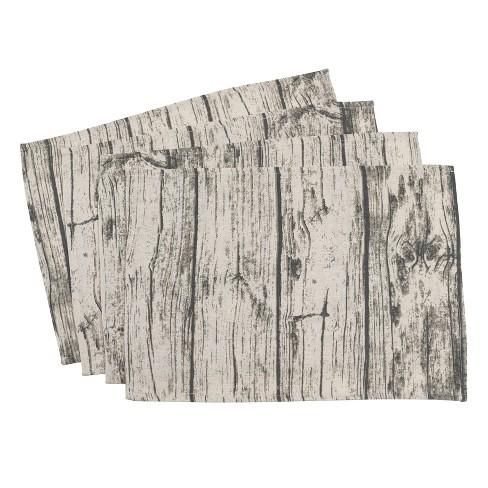 Natural Wood Grain Placemat - Saro Lifestyle - image 1 of 2