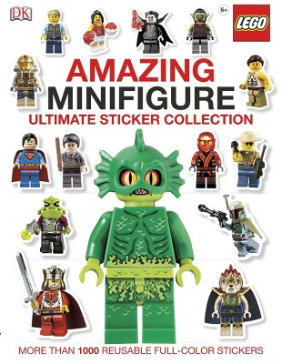 Lego Amazing Minifigure Ultimate Sticker Collection (Paperback) by Dorling Kindersley Inc.