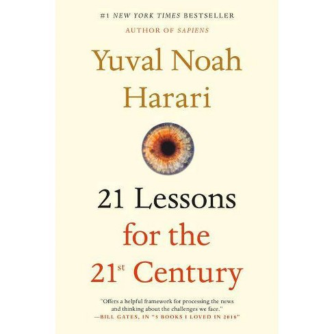 21 Lessons for the 21st Century - by  Yuval Noah Harari (Paperback) - image 1 of 1