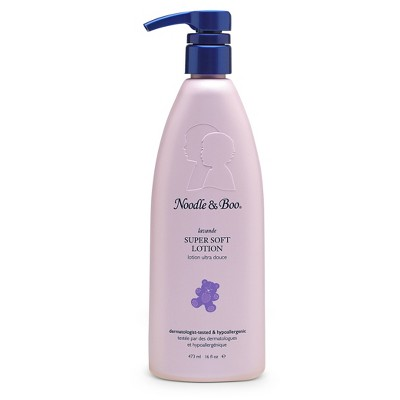 Noodle & Boo Lavender Newborn and Baby Super Soft Lotion - 16oz