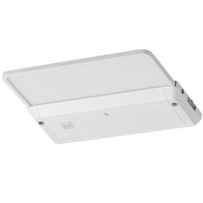 """LBL Lighting 700UCGLY93518W Glyde 18"""" Undercabinet Lighting, White Finish, 3500K"""