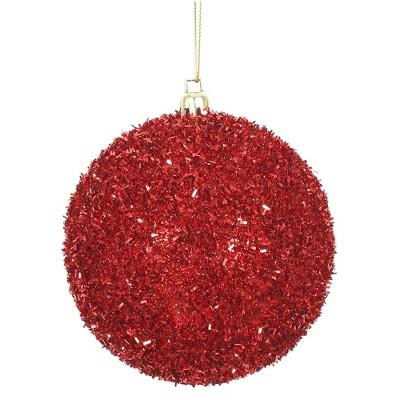 Vickerman Tinsel Ball Ornament