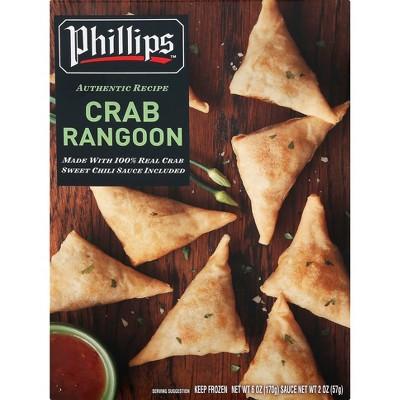 Phillips Frozen Crab Rangoons - 8oz