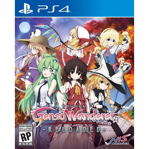 Touhou Genso Wanderer Reloaded - PlayStation 4, Multi-Colored