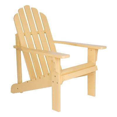 Marina Adirondack Chair Light Yellow - Shine Company Inc.