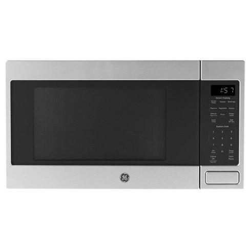 GE 1150 Watt Countertop Microwave Oven, Stainless Steel (Refurbished) - image 1 of 3