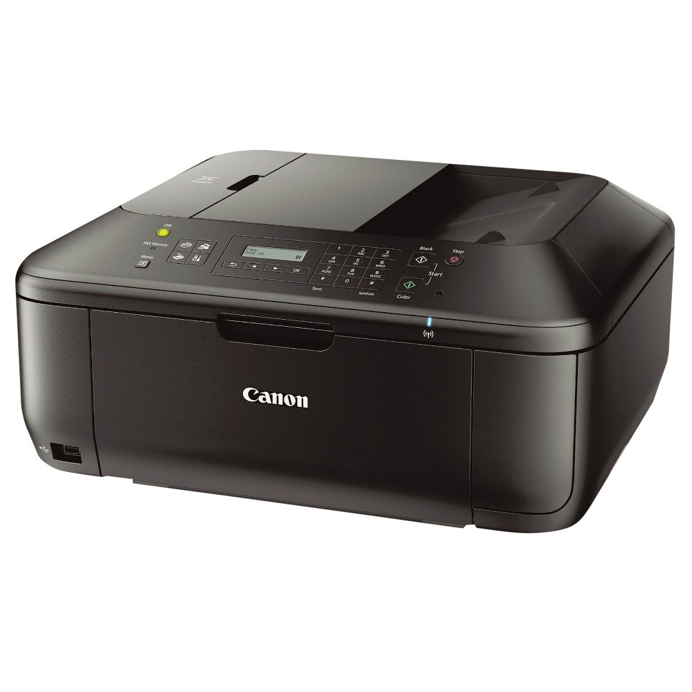 Canon Pixma MX532 Multifunction Color Inkjet Printer, Copy/Fax/Print/Scan - Black (CNM8750B002) Printing has never been more convenient with the Pixma MX532 Wireless Office All-In-One Printer. Perfect for mobile printing, its many convenient features include Pixma Printing Solutions (Pps), which allows you to print or scan photos and documents from your compatible mobile device. And with the Pps Cloud printing function you can print directly from select popular online Cloud services, such as Picasa Web Albums, Flickr, Facebook, Twitter, and Dropbox, with your mobile device using the free Pps app. Machine Functions: Copy; Fax; Print; Scan; Printer Type: Inkjet; Maximum Print Speed (Black): 9.7 ppm; Maximum Print Speed (Color): 5.5 ipm.