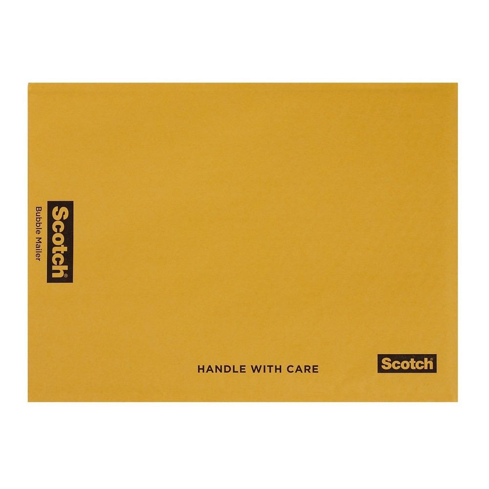 "Image of ""12.5"""" x 18"""" Bubble Mailer Yellow - Scotch"""