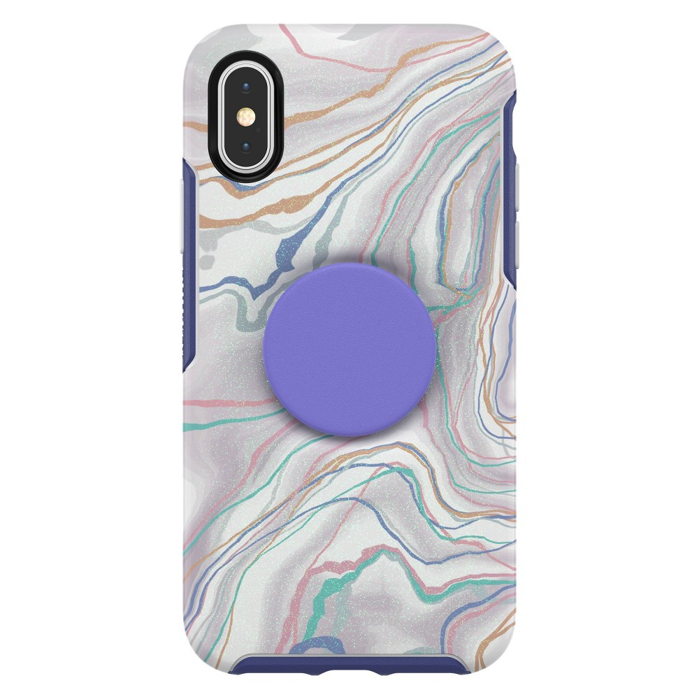 OtterBox Apple iPhone X/XS Otter + Pop Symmetry Case (with PopTop) - What A Gem