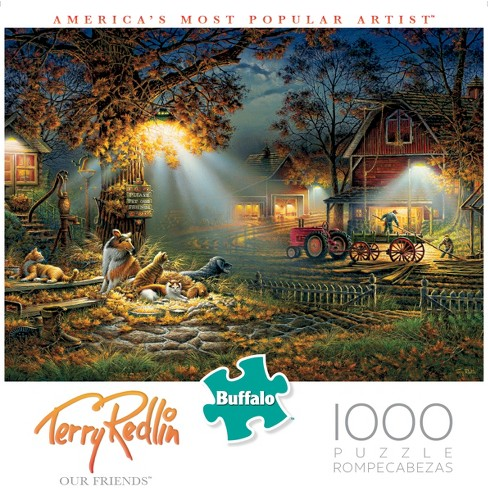 Buffalo Games Terry Redlin: Our Friends Puzzle 1000pc - image 1 of 4