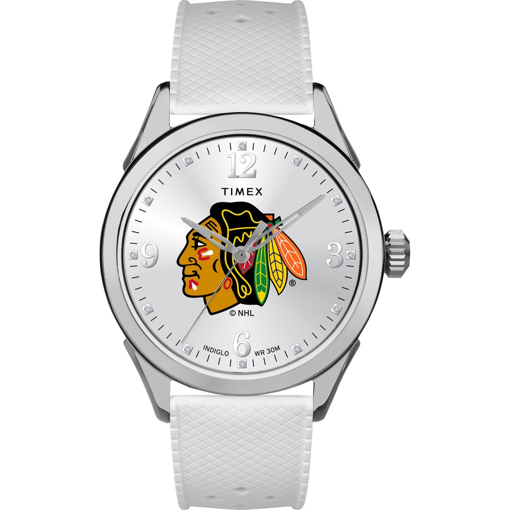 NHL Timex Tribute Collection Athena Women's Watch Chicago Blackhawks
