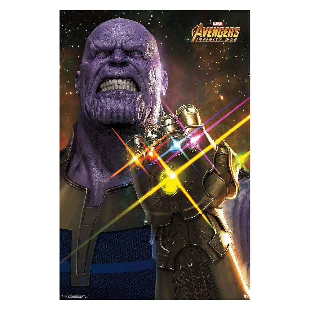 Avengers Infinity War Thanos Unframed Wall Poster Print 34