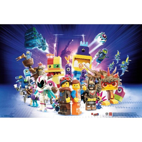 "34""x23"" Lego Movie 2 Group Unframed Wall Poster Print - Trends International - image 1 of 2"