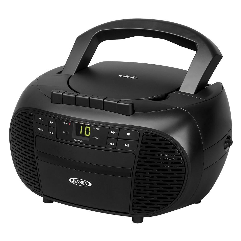 Jensen Portable Stereo Cd Cassette Recorder With Am Fm Radio Cd 550