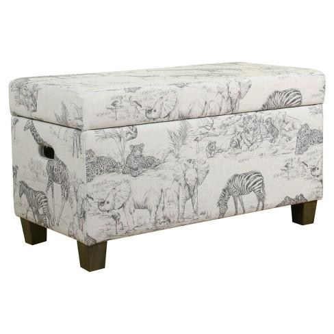 Kids' Jungle Storage Bench - HomePop - image 1 of 4