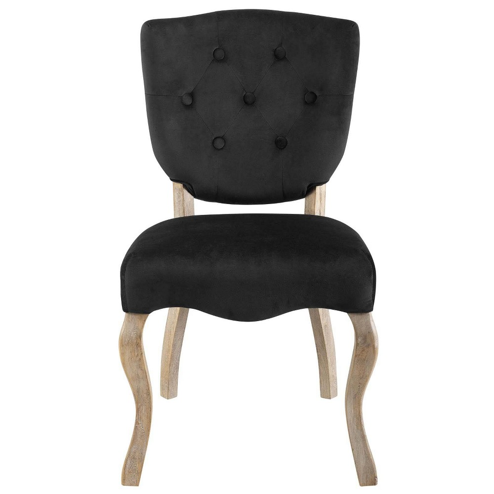 Array Vintage French Dining Side Chair Black - Modway