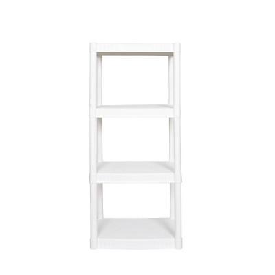 Plano 4 Shelf Utility Storage White
