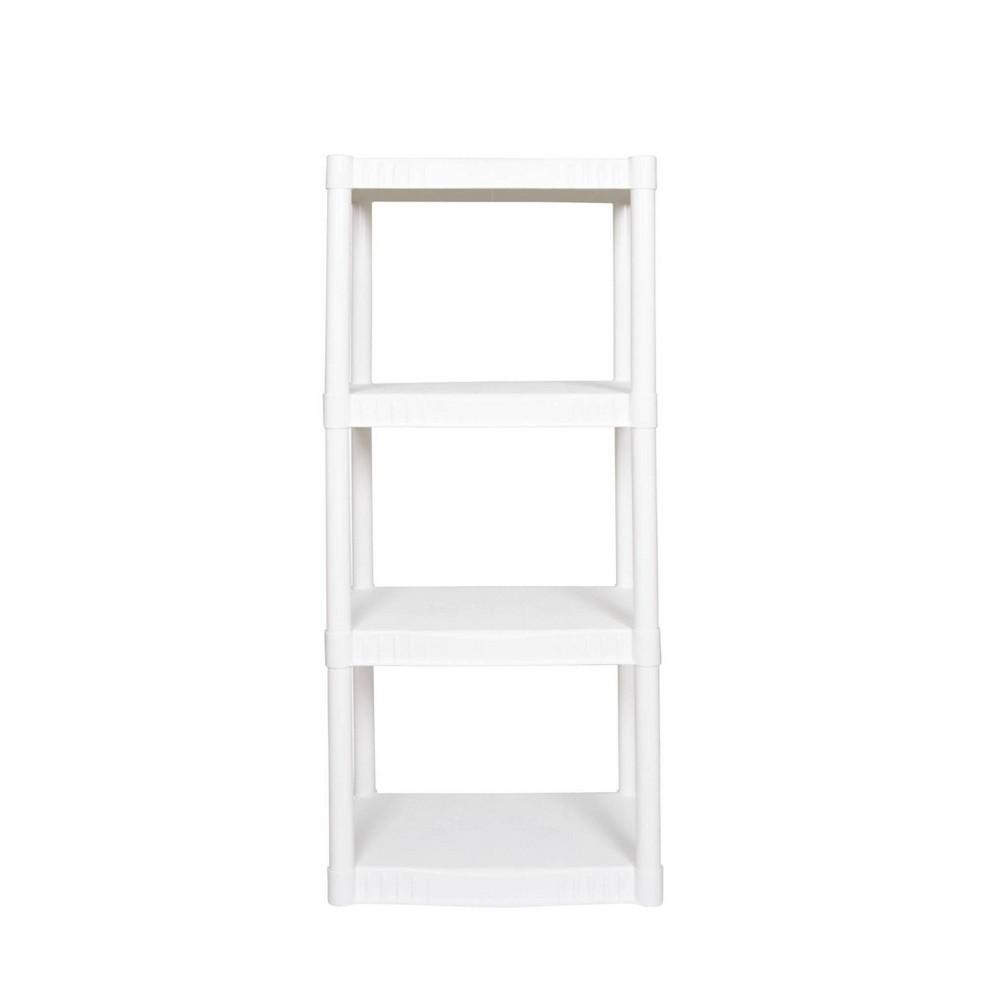 Image of Plano 4 Shelf Utility Storage White