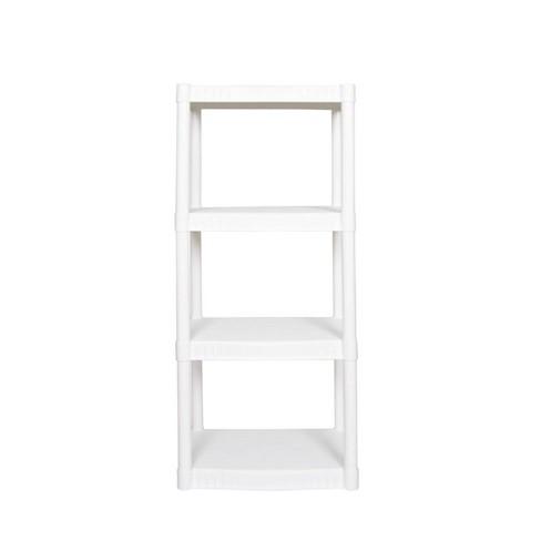 Plano 4 Shelf Utility Storage White - image 1 of 3