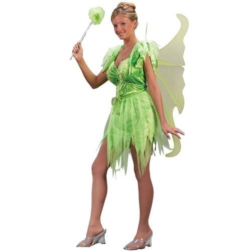 Halloween Women's Neverland Fairy Costume Small/Medium, Green