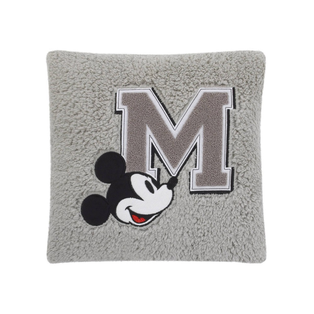 Image of Mickey Mouse & Friends Mickey Mouse Exploration Square Sherpa Throw Pillow