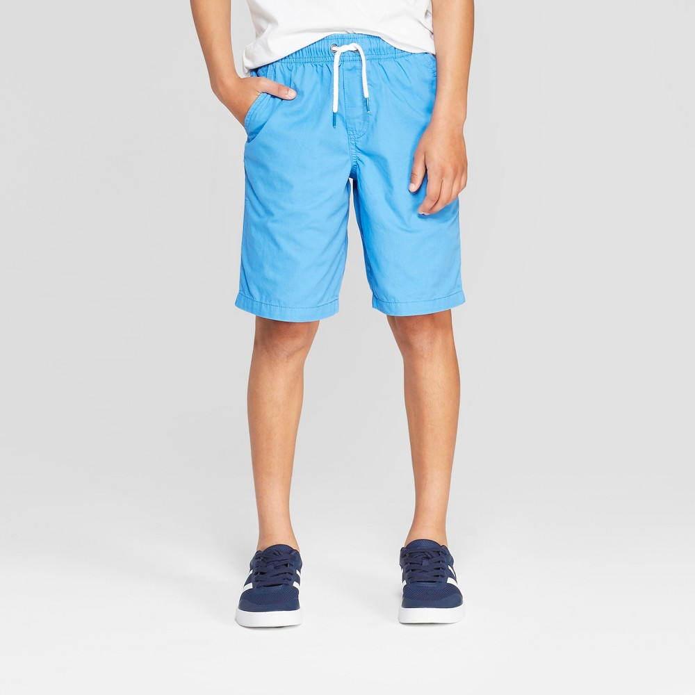 Boys' Pull-On Chino Shorts - Cat & Jack Blue S