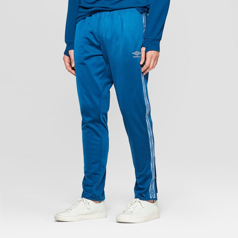 Umbro Men's Brushed Track Pants - Poseidon Blue XL