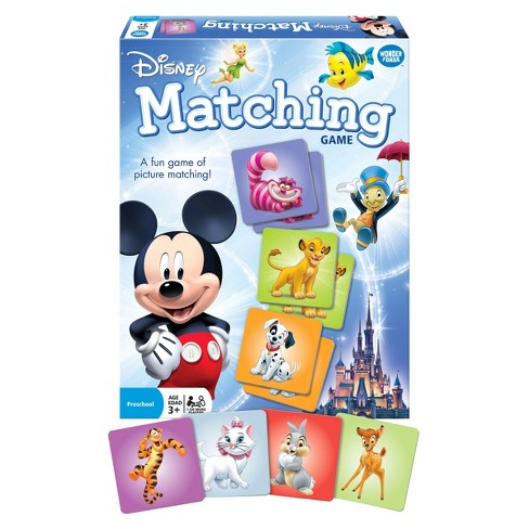 Disney Classic Matching Game - image 1 of 2