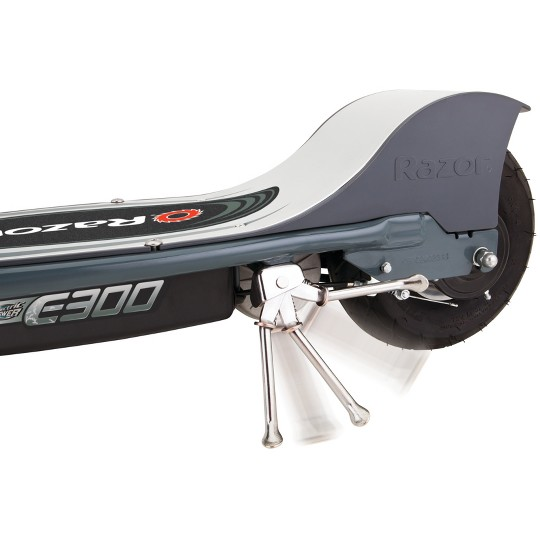 Razor E300 Rear Wheel Drive Electric Powered Scooter - Gray image number null