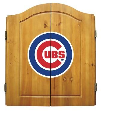 MLB Imperial Bristle Dart Board Cabinet Set