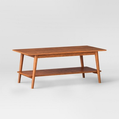 Amherst Mid Century Modern Coffee Table Brown   Project 62™ : Target