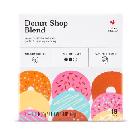 Donut Shop Medium Roast - Single Serve Pods - 18ct - Archer Farms™ - image 1 of 3