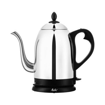 Melitta Aroma Pour Over Goose Neck Kettle Stainless Steel