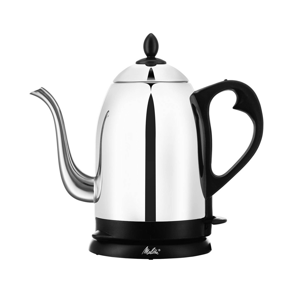 Image of Melitta Aroma Pour Over Goose Neck Kettle Stainless Steel