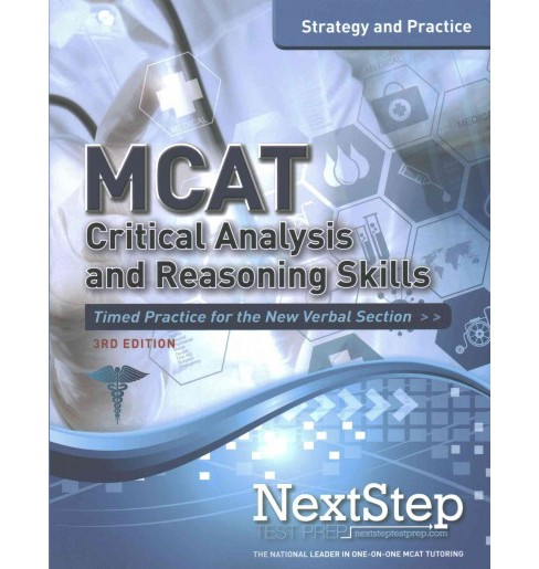 Mcat Critical Analysis and Reasoning Skills : Strategy and Practice (Paperback) (Bryan Schnedeker) - image 1 of 1