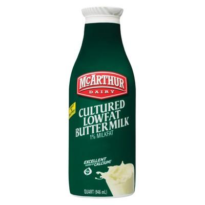 McArthur Dairy 1% Buttermilk - 1qt