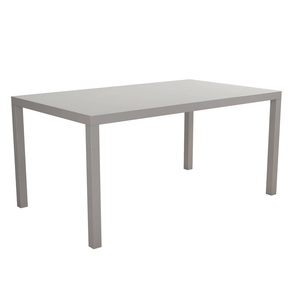 Jade Rectangular Dining Table Taupe (Brown) - Room & Joy