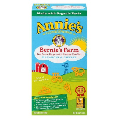 Mac & Cheese: Annie's Bernie's Farm