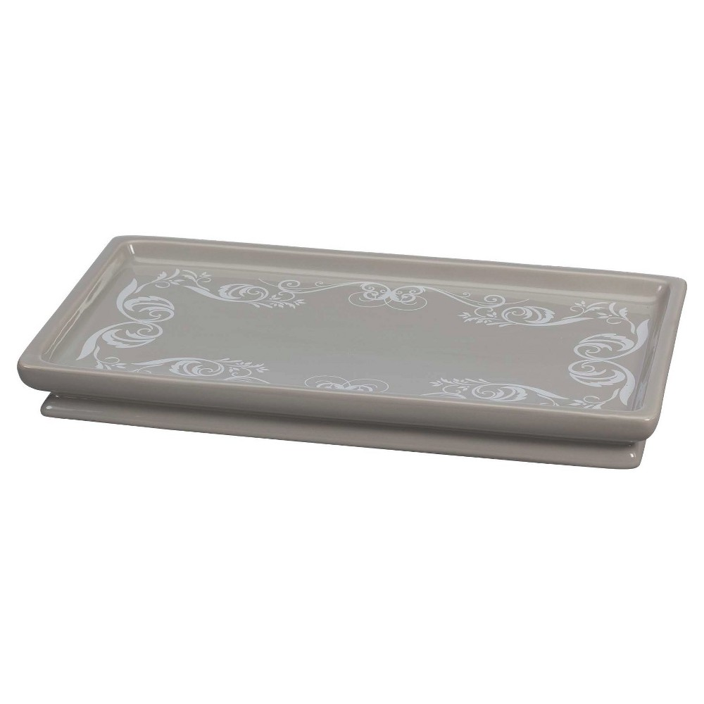Image of Royal Hotel Tray Taupe - Creative Bath, Brown