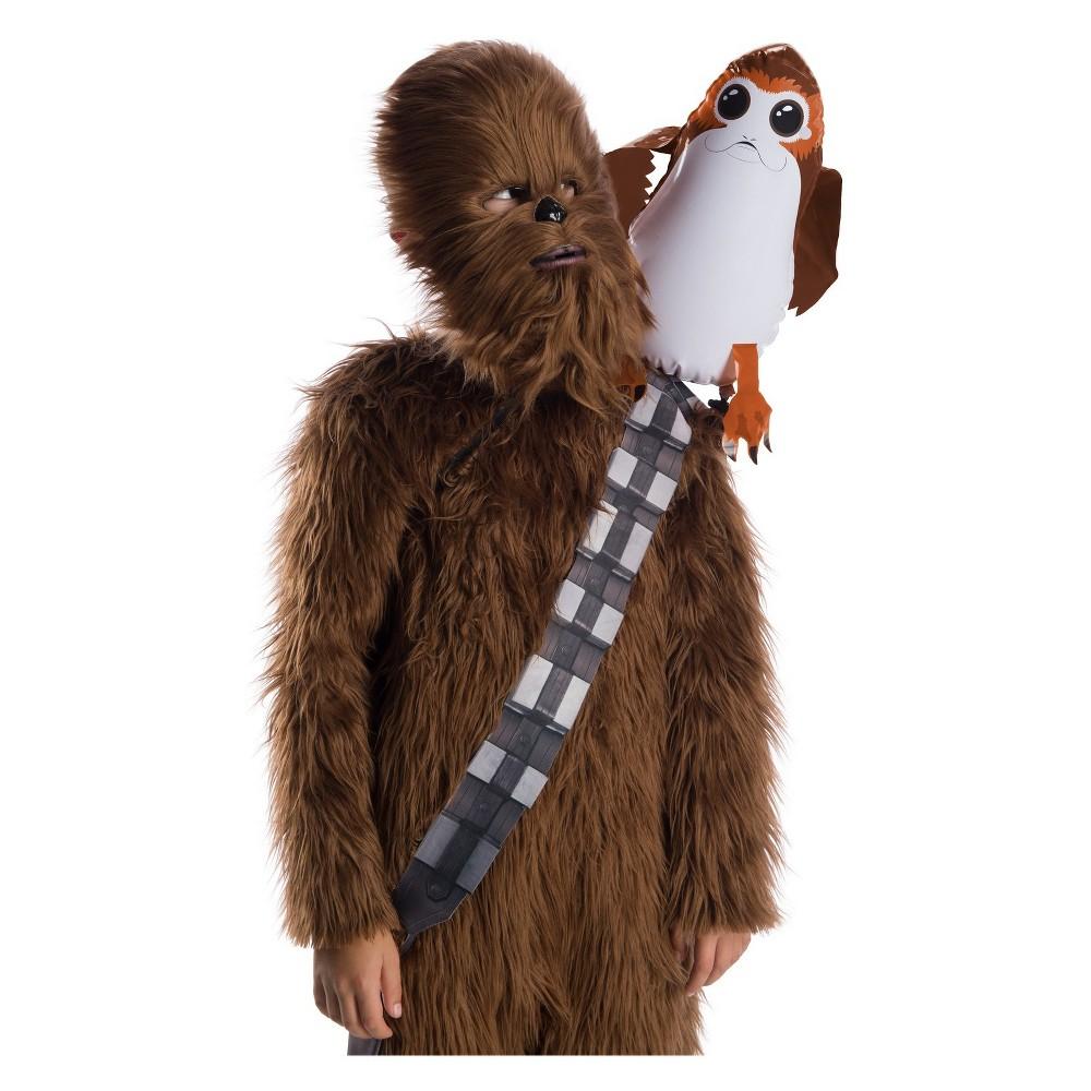 Kid's Star Wars The Last Jedi Porg Shoulder Sitter Costume Accessory, Boy's, Multi-Colored
