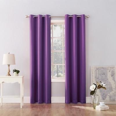Riley Kids' Bedroom Blackout Grommet Top Curtain Panel - Sun Zero