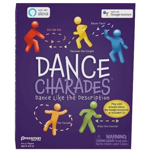 Pressman Dance Charades Card Game - image 1 of 4